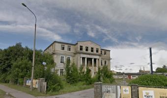 opuszczony hotel , Kościerzyna,