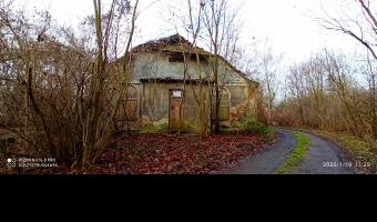 Opuszczony dwór, moszna wieś
