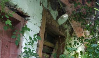 Opuszczony dom - Wola Marcinkowska,