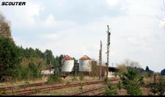 Stacja kolejowa Czarnowo-Undy, Czarnowo,