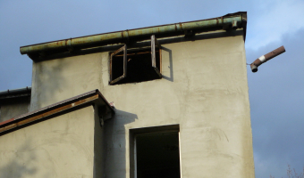 Opuszczony dom, Strzyżowice,