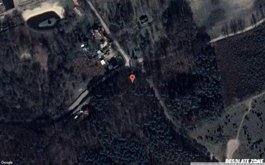 Opuszczony poniemiecki cmentarz ewangelicki, ulinia