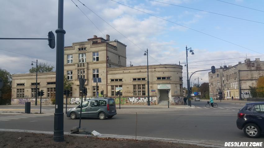 Opuszczona zajezdnia tramwajowa