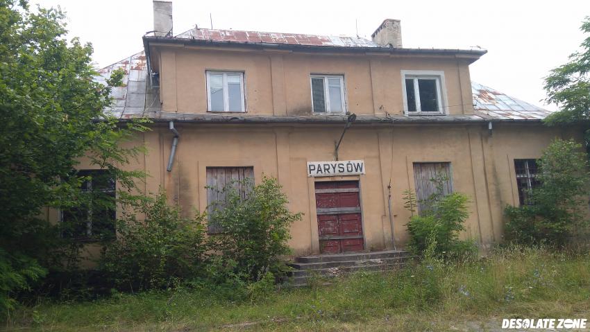 Stacja kolejowa parysów