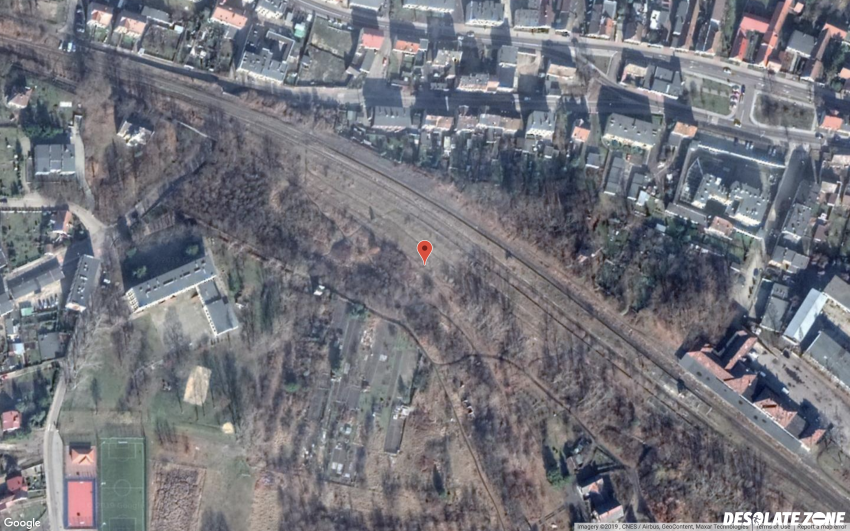 Nieczynna stacja kolejowa, lubsko