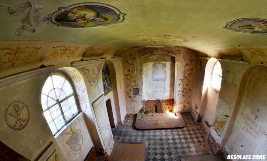 Kościół pw. św. heleny, wróblin głogowski