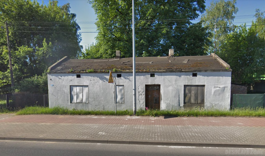 Opuszczony dom, aleksandrów Łódzki