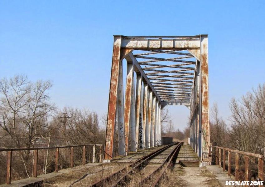 Stary most kolejowy, warszawa