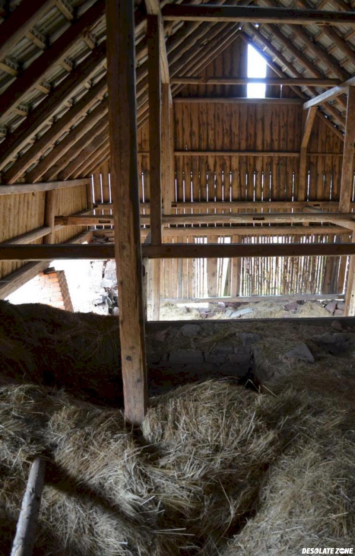 Opuszczone domy, bieganów k. nowej rudy