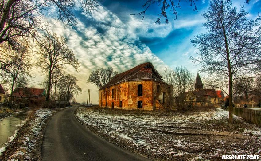 Ruina zboru ewangelickiego w przecławiu, przecław
