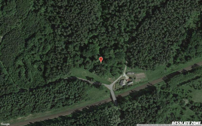 Opuszczony grobowiec/kapilca w szpęgawsku, szpęgawsk