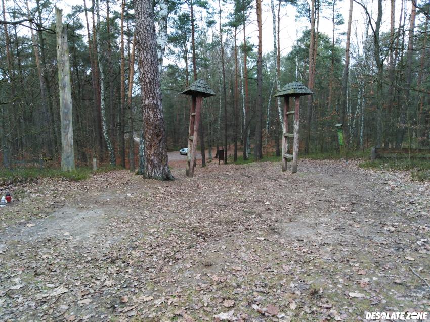 """Cmentarz wojenny w gałkowie małym """" hitlerka"""""""